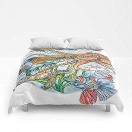 Water World Comforters