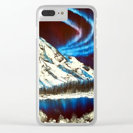 Northern Skies Clear iPhone Case