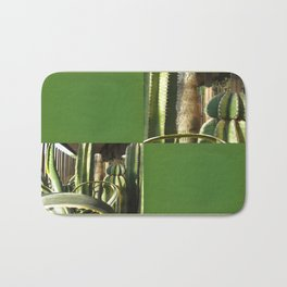 Cactus Garden Blank Q5F0 Bath Mat