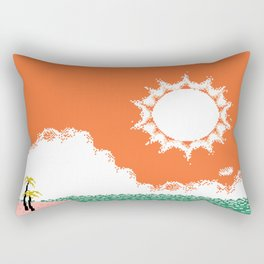 Lonely Angels Rectangular Pillow