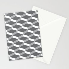 3D charcoal Stationery Cards