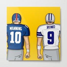 E. Manning vs Romo Metal Print