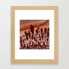 Apache Canyon Jasper Framed Art Print