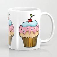 cupcake Mugs featuring Cupcake by AnnaCas