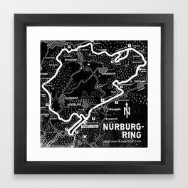 Nurburg-Ring Framed Art Print