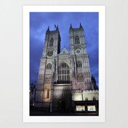 Westminster Abbey I Art Print