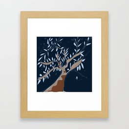 Tree of connection  Framed Art Print
