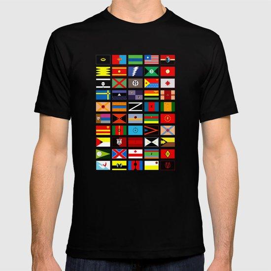 SH as flags T-shirt