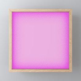 Pink Shimmer Framed Mini Art Print