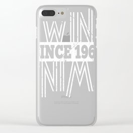 Twins-Since-1969---48th-Birthday-Gifts Clear iPhone Case