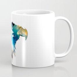 Space Bald Eagle Coffee Mug