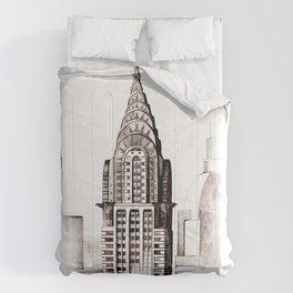 Chrysler Building, NYC Comforters