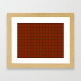 MacGregor Tartan Framed Art Print