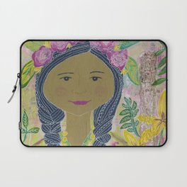 Warrior Spirit Zendaya Rose Laptop Sleeve