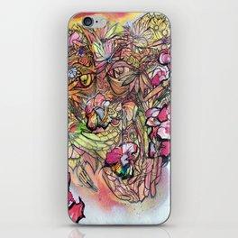 Flower Storm iPhone Skin