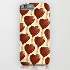 Ice Cream Pattern - Heart iPhone 6s Slim Case