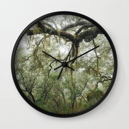 Florida Forest Landscape Wall Clock