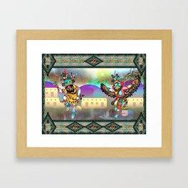 Kachina Eagle Framed Art Print