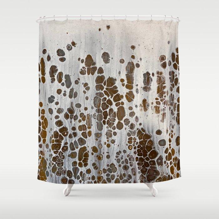 Rothschild's Giraffe Shower Curtain