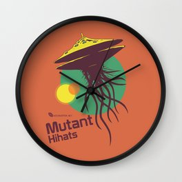 Hexinverter.net – Mutant Hihats Wall Clock