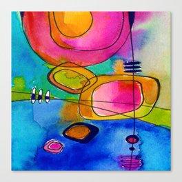 Magical Thinking No. 2B by Kathy Morton Stanion Canvas Print