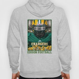 Edison Chargers Football Hoody