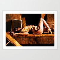 silent hill Art Prints featuring Silent Hill by RunRabbitEntertainment