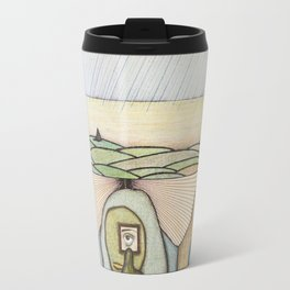 Alien Optometrist's Road to Solitude Travel Mug
