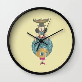 Encaración la Poissonnière Wall Clock