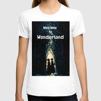 wonderland T-shirts featuring Wonderland by Design4u Studio