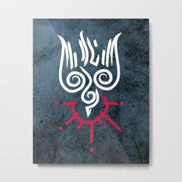 Holy Spirit religious symbol illustration Metal Print