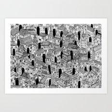 City of Ghosts Art Print