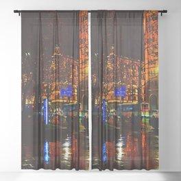 Shanghai 五 Sheer Curtain