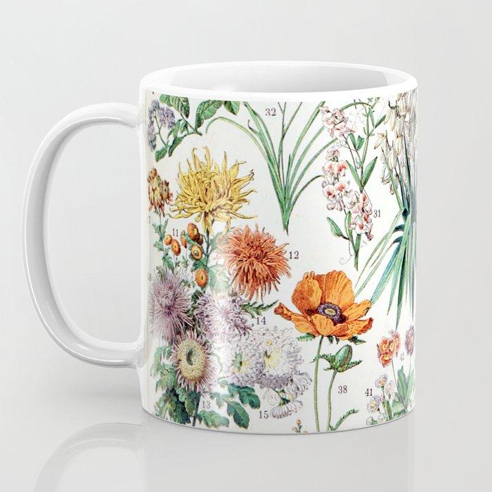 Adolphe Millot - Fleurs B - French vintage poster Coffee Mug