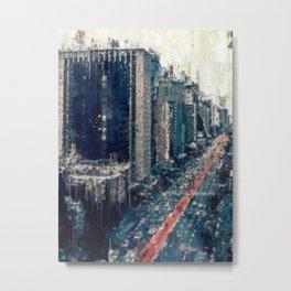 Paulista Avenue Metal Print
