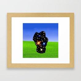 3F3 Framed Art Print