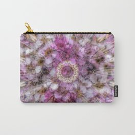 Floral fusion mandala Carry-All Pouch