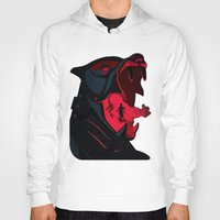 the hound Hoodies featuring The Hound by Harry Martin