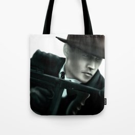 Johnny Depp// John Dillinger Tote Bag
