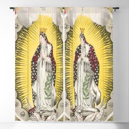 Our lady of Guadalupe, 1848 Blackout Curtain