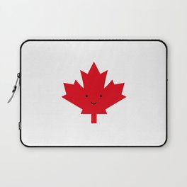 Happy Canada Day Maple Leaf (Red) Laptop Sleeve
