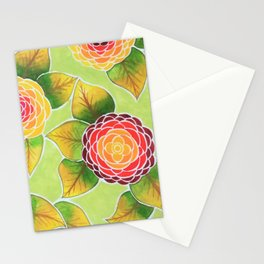 Summer in Green Stationery Cards