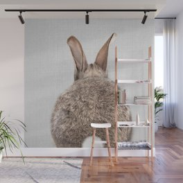 Rabbit Tail - Colorful Wall Mural
