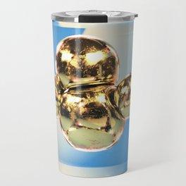 sticky gold Travel Mug