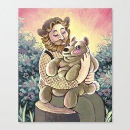 Bear Lumps Canvas Print