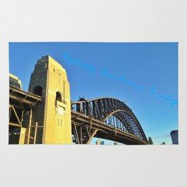 Sydney Harbour Bridge, Australia Rug