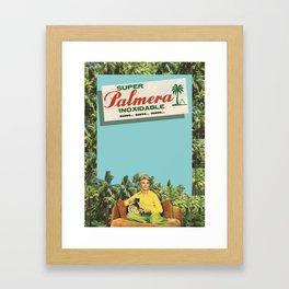 Super Palmera Framed Art Print