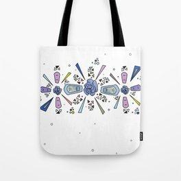 geometric flower crown Tote Bag