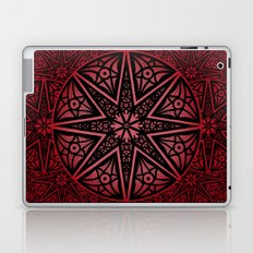 rashim red star mandala Laptop & iPad Skin