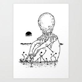 Melt Me Art Print